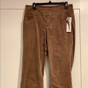 JAG high rise straight led courdory jeans